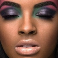 How do black girls do basic makeup?