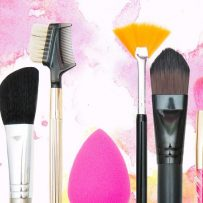 Popular kinds of makeup brushes and their uses
